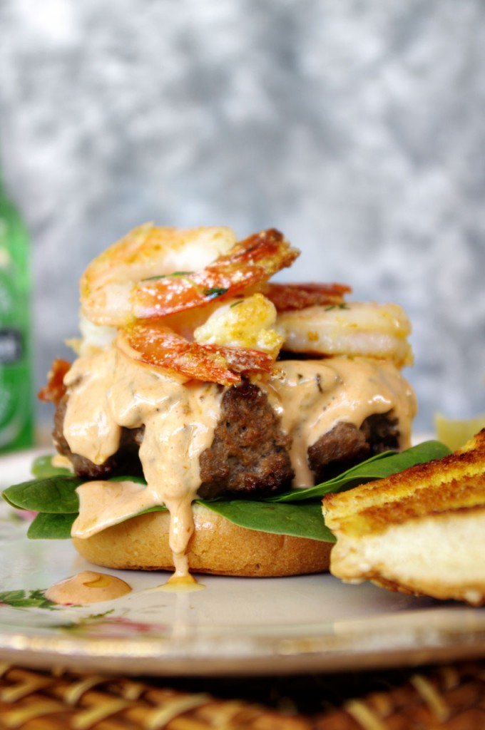 Surf and Turf Burger