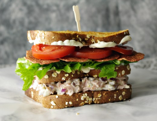 Double Decker Ham Salad BLT