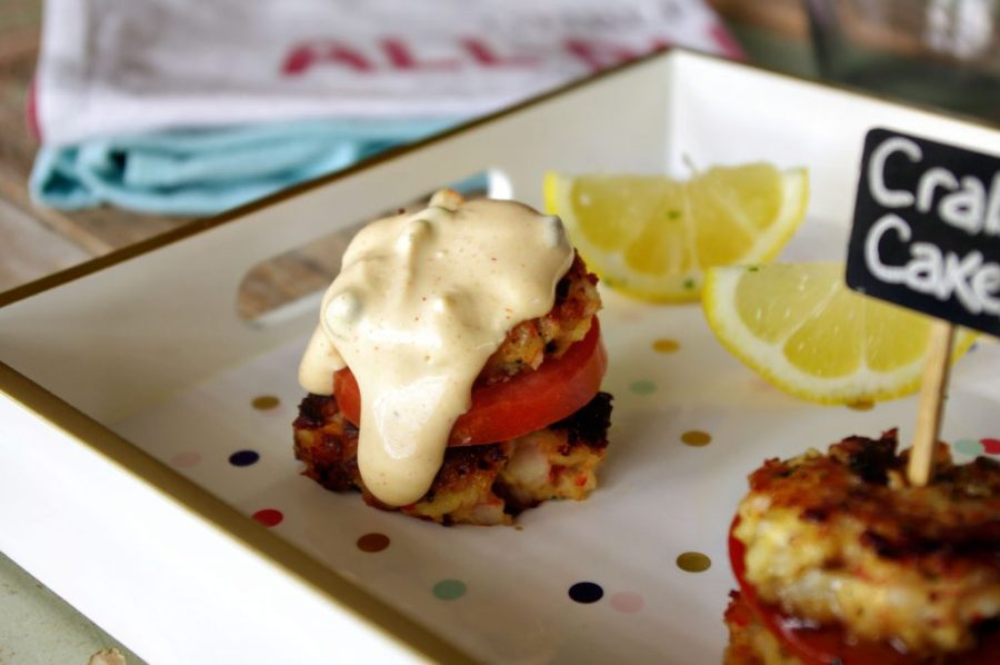 Lemon Tarragon Crab Cakes