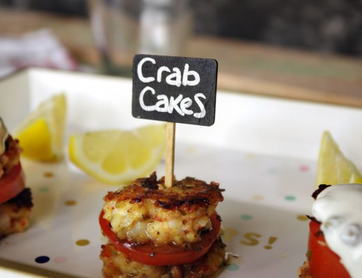 Lemon Tarragon Crab Cakes