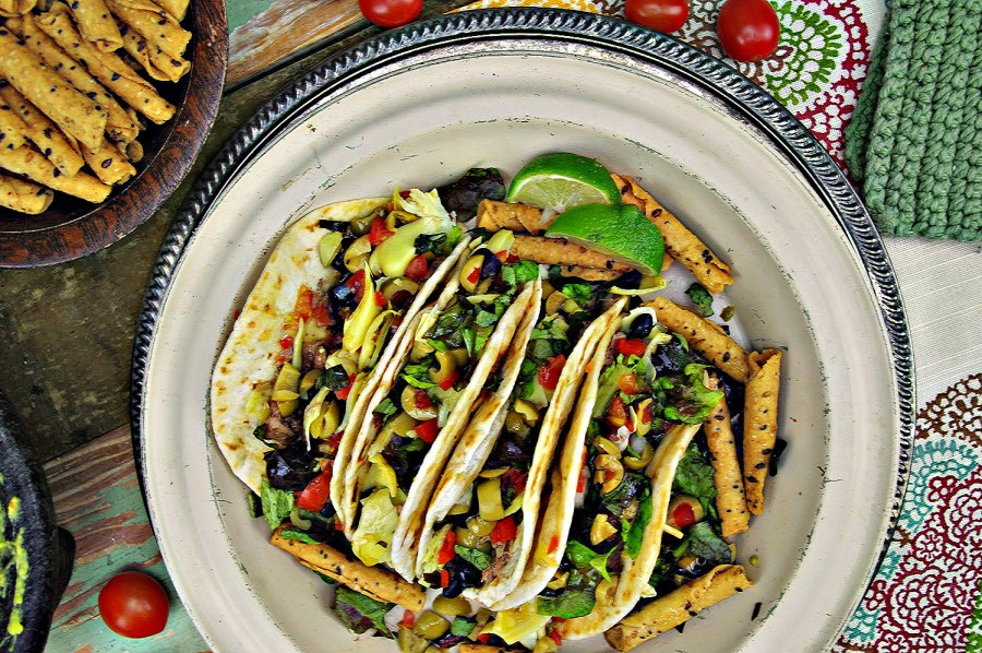 Heart Healthy Nicoise Tacos