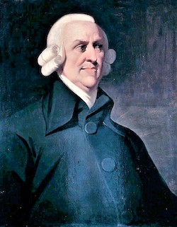 Det sk Muir Portrait av Adam Smith