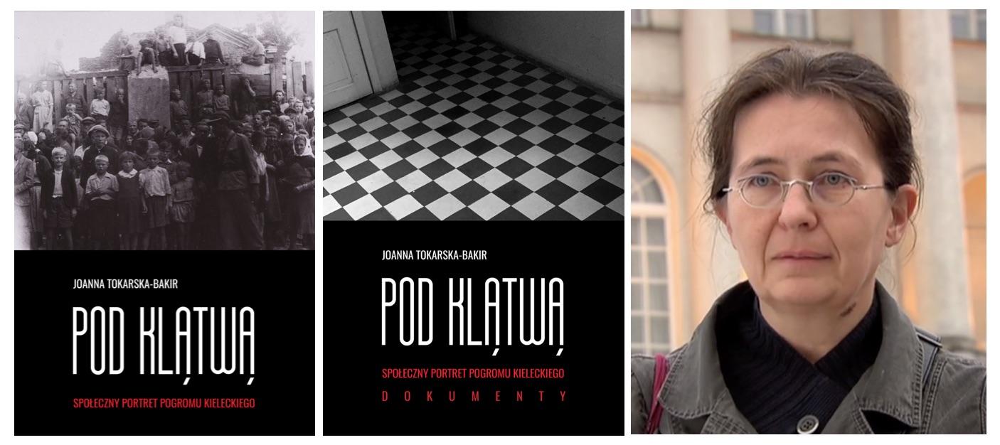 De båda volymerna och professor Joanna Tokarska-Bakir