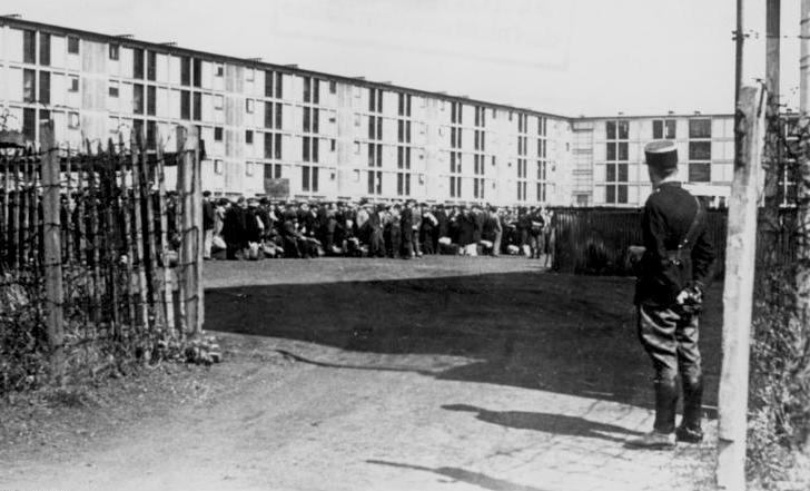Lägret i Drancy (Bundesarchiv)