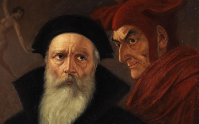 Kaulbach - Faust und Mephisto (Wikicommons)