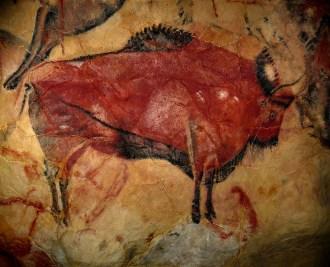 Målning från Altamira
