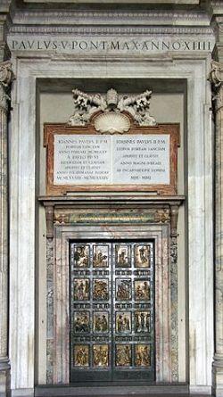 La Santa Porta i Peterskyrkan