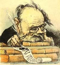 Léandre - karikatyr av Zola