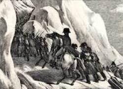 Napoleon vid Sankt Bernhard
