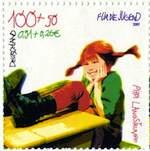 Pippi på frimärke