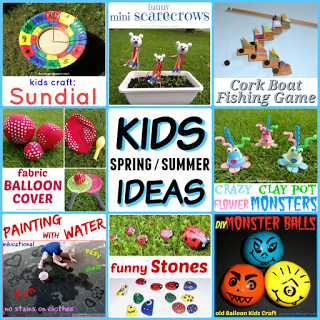 Spring and Summer Ideas for Kids