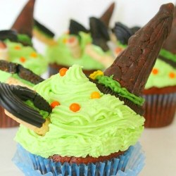 Halloween Witch Cupcake Recipe