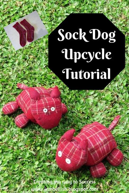 Sock Dog Upcycle Tutorial