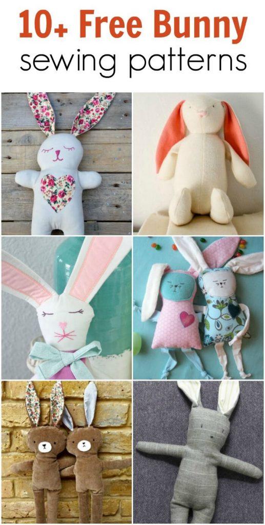Free Easter Bunny Patterns Diy Crush