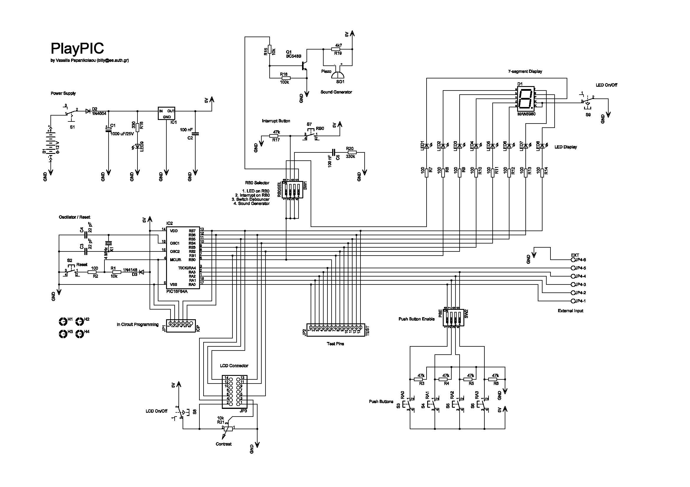 Circuit Diagrams Schematics Electronic Projects