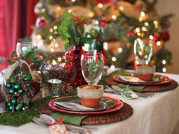 Examples Of Christmas Table Decorations | Psoriasisguru.com