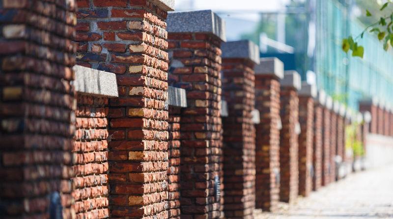 building a brick pier