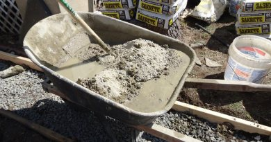 concrete and mortar mixes guide
