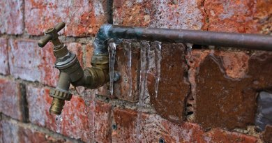 thaw frozen pipes