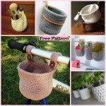 15 Useful Crochet Hanging Basket Free Patterns Diy 4 Ever