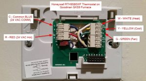 DIY installation – Honeywell WiFi Thermostat RTH9580WF and HE280 Humidifier – DIYable