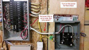 DIY 240V Sub Panel Siemens EQL8100D Installation in Canada