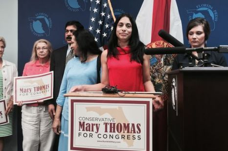 Mary Thomas defeated in Congressional Primary