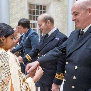 British Armed forces celebrate Raksha Bandhan symbolizing bonds of protection