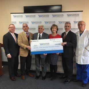 Virginia's Dr. Krishne Urs donates $500K to Richmond University Medical Center