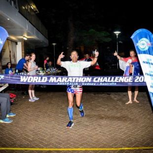 The Indian American dentist who ran 7 marathons on 7 continents, in 7 days