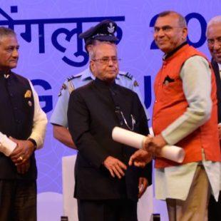 Ekal USA Founder Ramesh Shah honored in Bengaluru