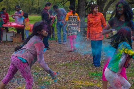 What it means to be an Indian American celebrating Holi in America