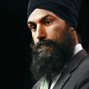 Canada's Jagmeet Singh emerges as potential rival to Justin Trudeau