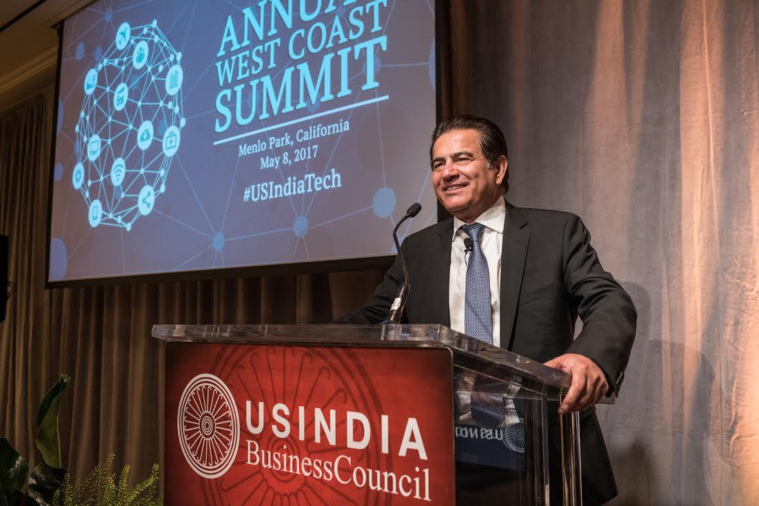 US India Business Council honors Chandrababu Naidu at west coast summit