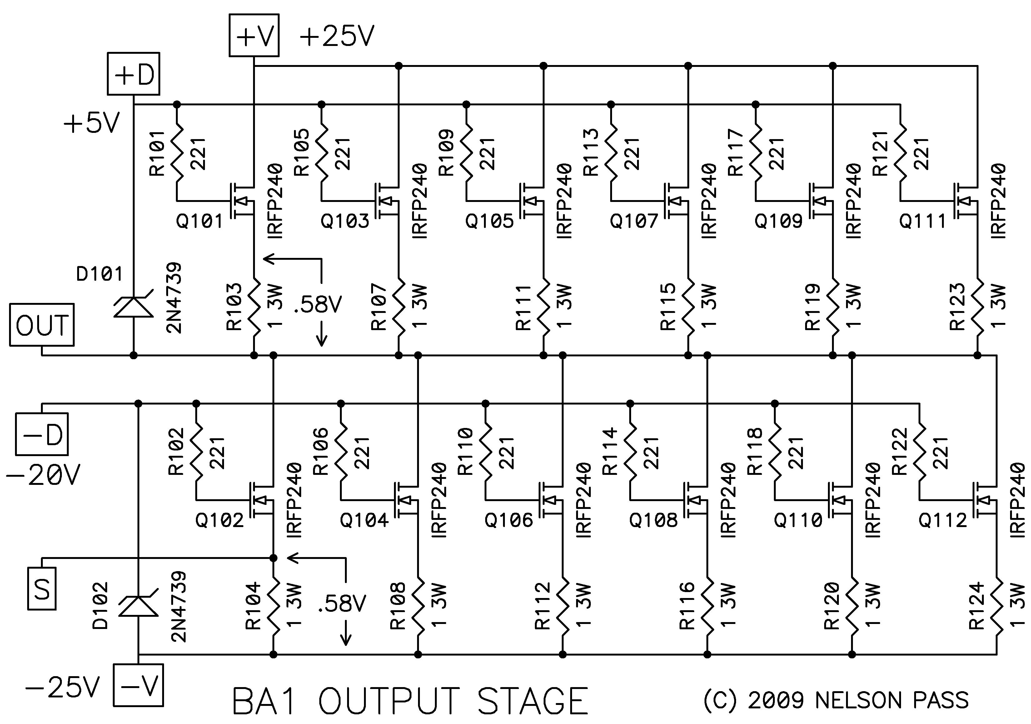 Burning Amplifier Ba 1