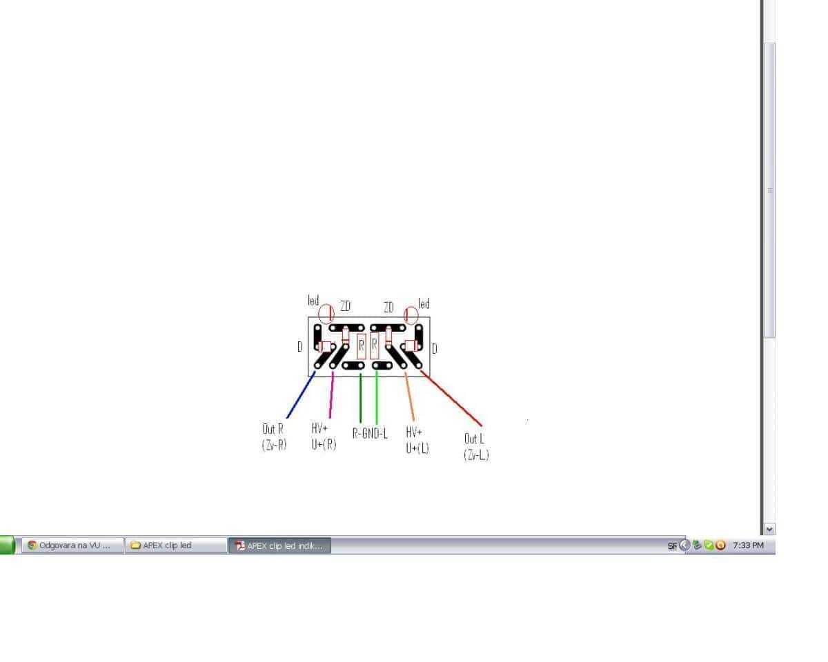 Vu Meter And Peak Level Indicator Meter