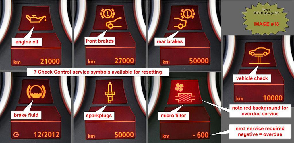 Bmw Service Engine Soon Light