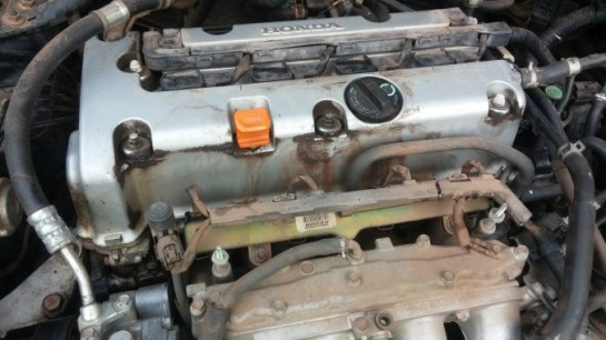 valve cover without intake covers 2003 Accord