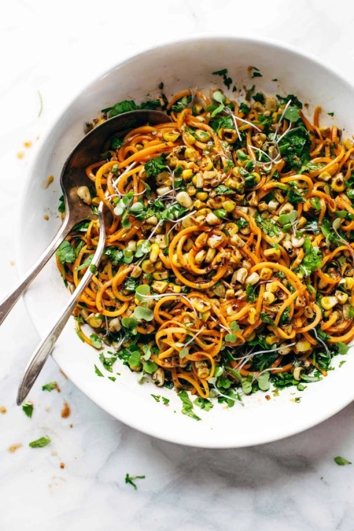 Sweet Potato Chipotle Noodles