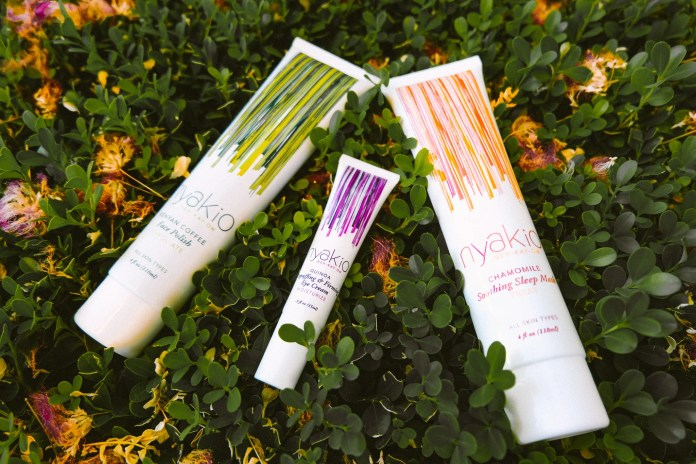 Nyakio Skincare for Dry and Dull Skin-Bedtime Routine