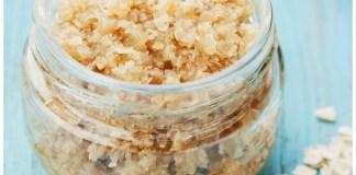 Sugar Scrub for Cystic Acne