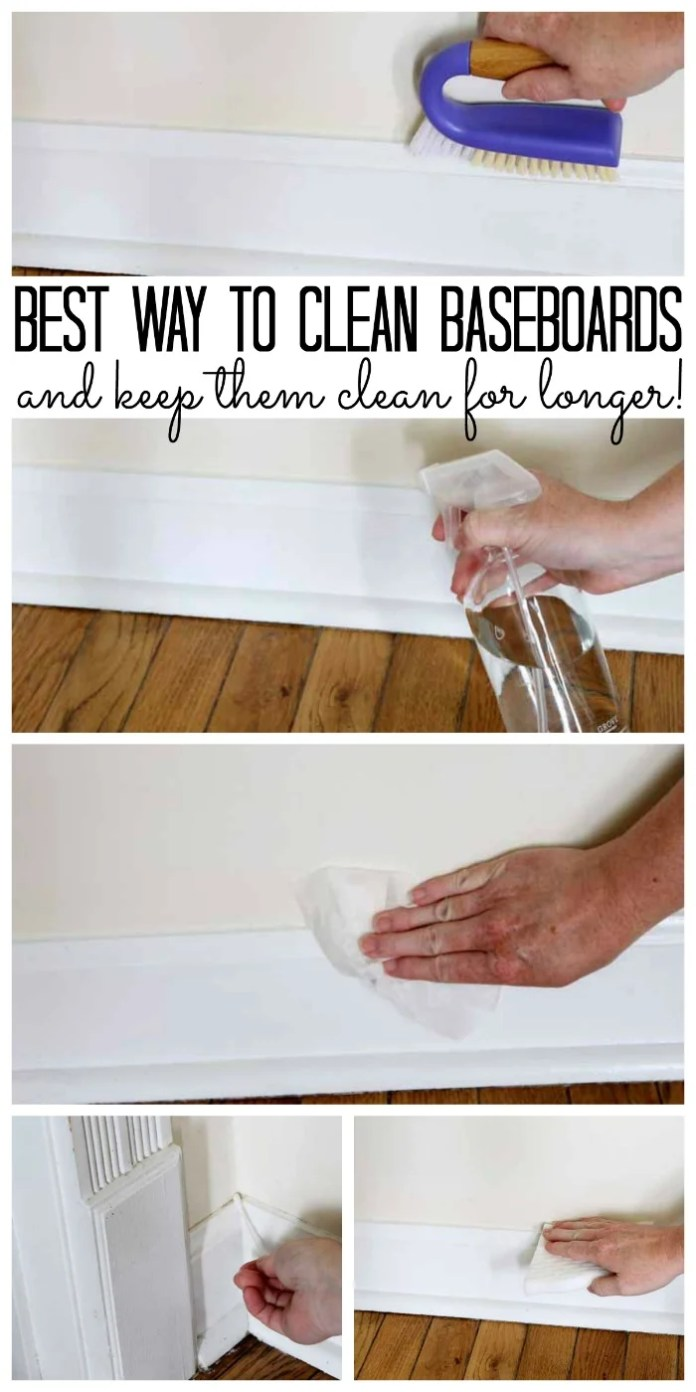 Clean Your Entire House | How to Clean Your Baseboards