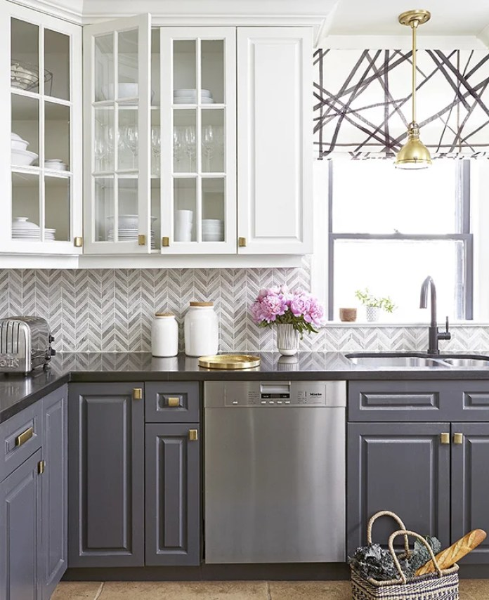 Gray Kitchen Cabinet Paint Idea