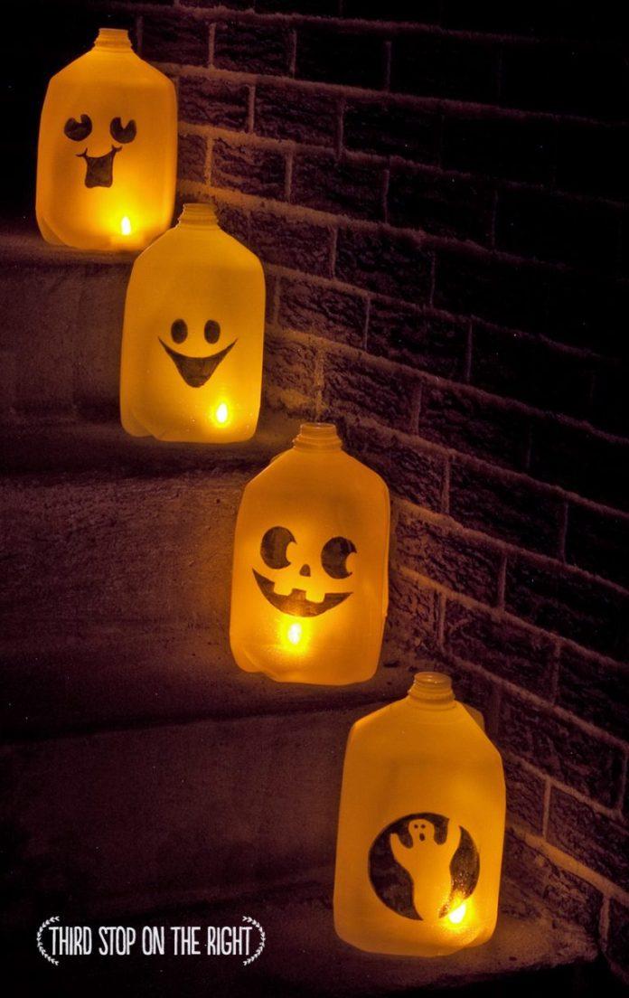 17 Cool DIY Halloween Lanterns And Luminaries