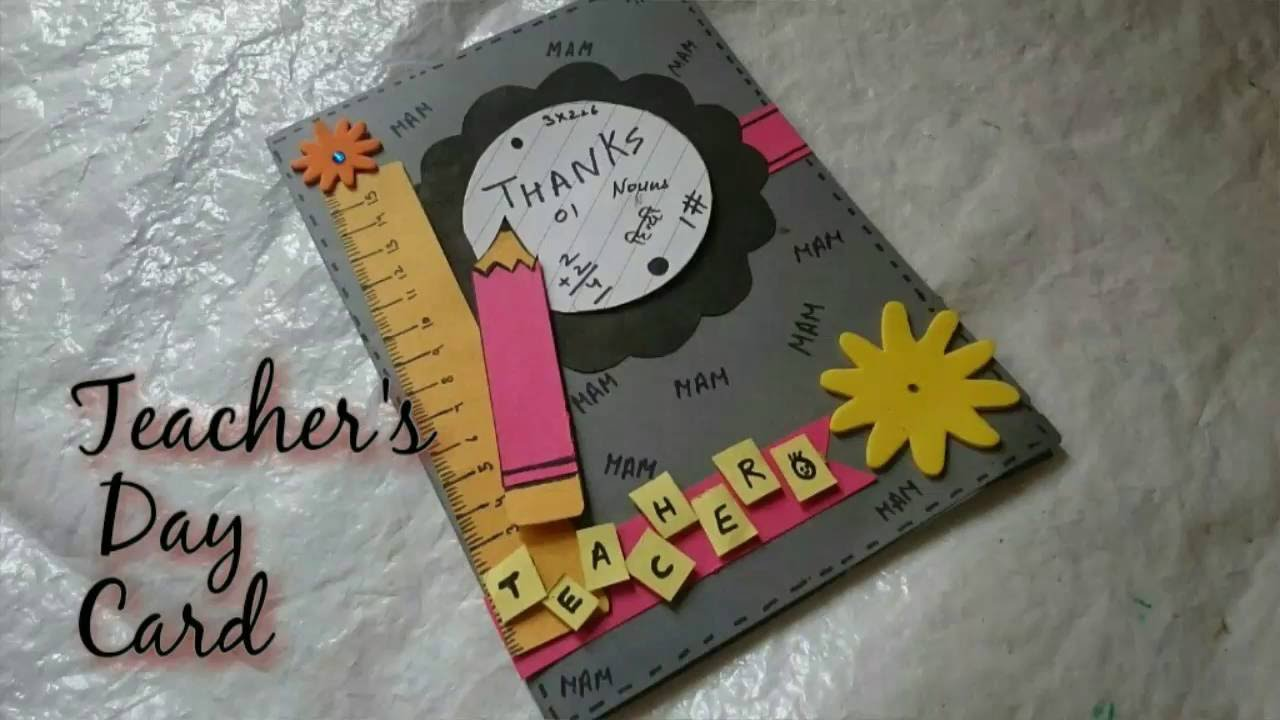 Diy Greeting Toddler Card