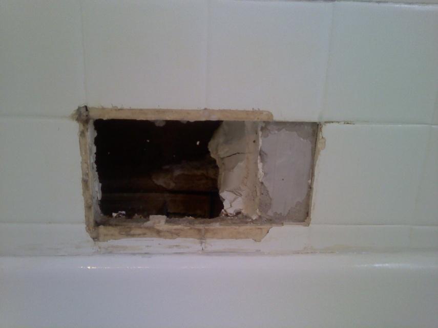 shower tile recessed soap dish diy