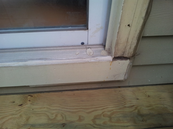 installing sill pan flashing for new