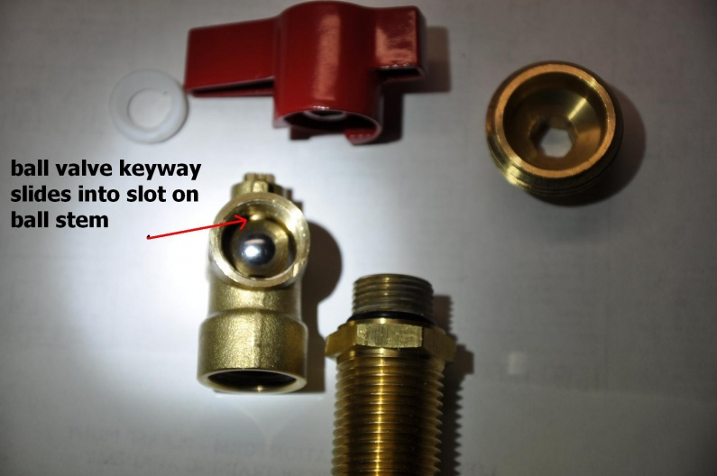 washing machine supply valve leak