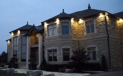recessed lighting in roof soffits diy