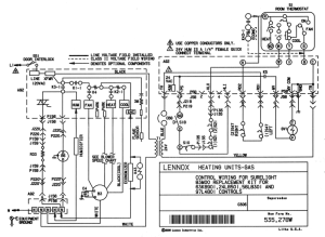 Schematic Diagram For Lennox 24L8501 Furnace Control Board